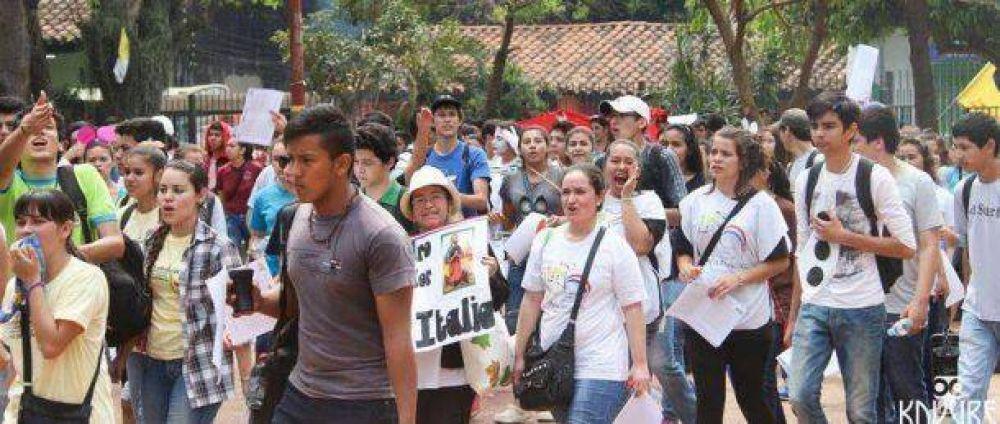 Más de 1500 jóvenes de San Lorenzo peregrinarán a Nueva Italia