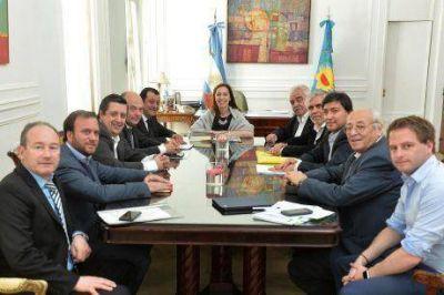 Satisfacci�n del intendente de Tres Lomas por los alcances de la reuni�n con la gobernadora Vidal