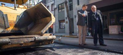 Arroyo activo: Repara calles en el centro
