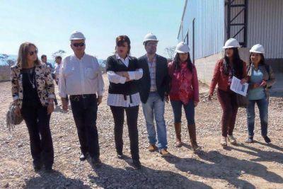 LA MINISTRA DE AMBIENTE Y CONCEJALES VISITARON EL CENTRO AMBIENTAL CHANCHILLOS