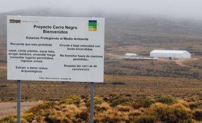 AOMA paralizó las actividades en Cerro Negro