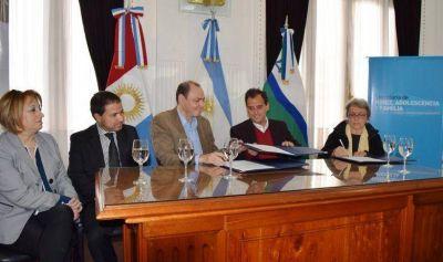 El Municipio, Senaf y Unicef firmaron un convenio por los derechos de los niños