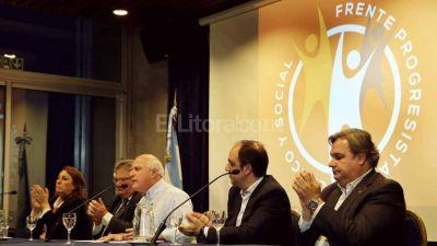 Lifschitz se reunió con intendentes y presidentes comunales del Frente Progresista