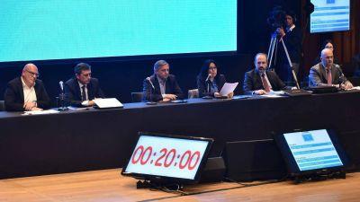 Aranguren ratificó el aumento de 203% en el gas en el inicio del debate