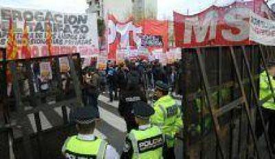 La protesta en las calles: