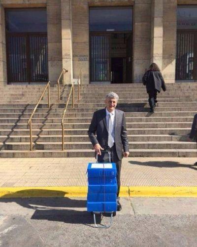 Barrera se presentó ante el fiscal Stornelli luego de las denuncias de Stolbizer