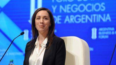 Maria Eugenia Vidal en la UCA: