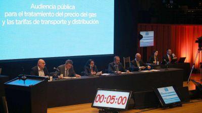 Comenzó la última jornada de las audiencias públicas por el aumento del precio del gas