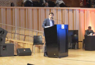 Naidenoff participa de las audiencias por la tarifa del Gas
