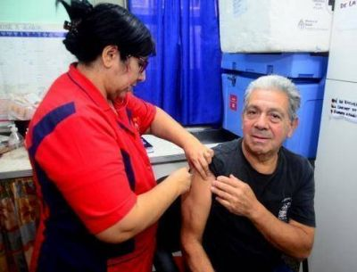 La Provincia aumentó casi un 30 por ciento la cobertura de vacunación