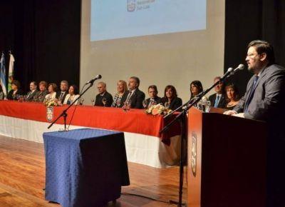 Félix Nieto Quintas asumió su segundo mandato en la UNSL