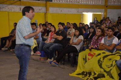 """Gustavo Martínez participó del plenario de la juventud y pidió """"trabajar en conjunto para el bienestar de todos los ciudadanos"""""""