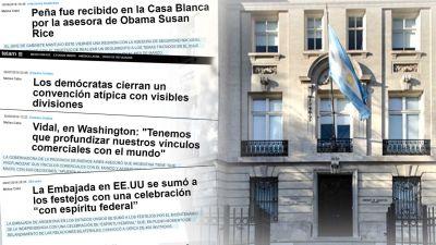 Periodismo militante M: la corresponsal de T�lam en Estados Unidos ahora tambi�n es jefa de prensa de la Embajada