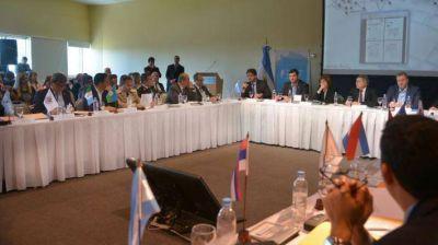Nievas participó del IV Consejo Nacional de Seguridad donde suscribió convenios con Nación