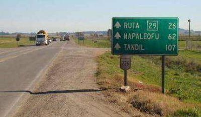 Repavimentar�n la ruta provincial 29