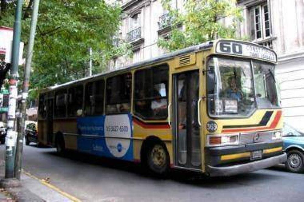La línea 60 funcionará con servicio completo