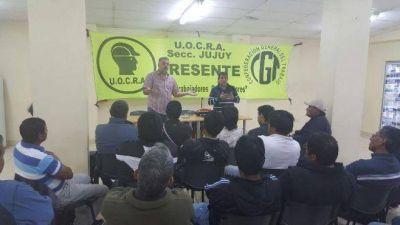 La UOCRA Jujuy ve con preocupaci�n la situaci�n de la obra p�blica provincial