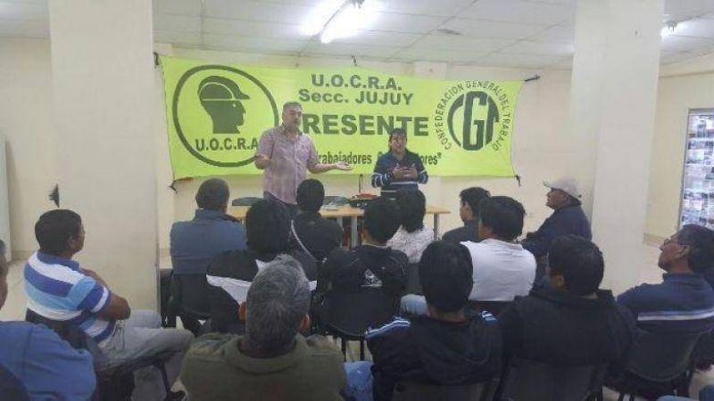 La UOCRA Jujuy ve con preocupación la situación de la obra pública provincial