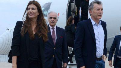 Mauricio Macri se re�ne con Bill Clinton en el arranque de su agenda oficial