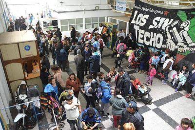 Varias organizaciones tomaron Desarrollo Social para reclamar