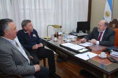 Presupuesto Nacional: Verna, Lovera y Ziliotto se reunieron para defender los intereses pampeanos
