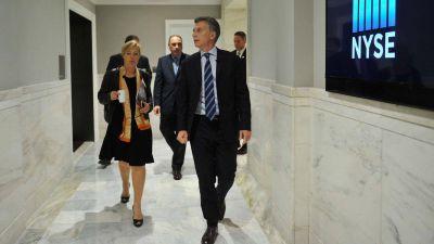 Mauricio Macri aseguró que los inversores extranjeros