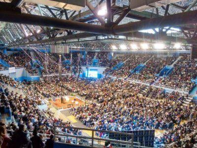La Asamblea de los Testigos de Jehov� reuni� a casi 24 mil personas