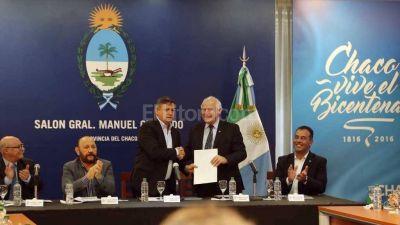 Santa Fe y Chaco ratificaron su convenio de trabajo en conjunto