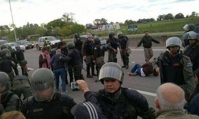 """Represión en el Peaje Larena: El Municipio dijo que lo sucedido fue """"lamentable"""""""