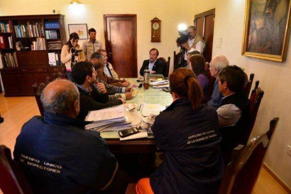 Se firmó el acuerdo salarial de los trabajadores municipales de Paraná