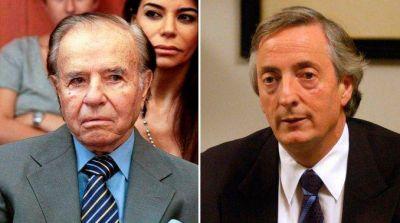 Menem revel� por qu� se baj� de la segunda vuelta contra Kirchner