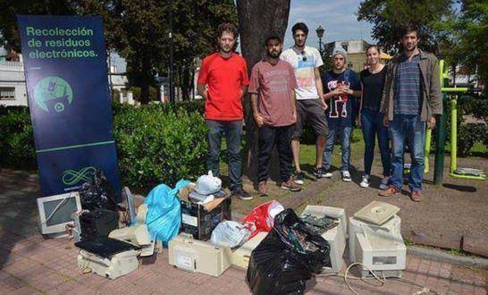 Juntaron en San Isidro tres toneladas de residuos electrónicos