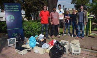 Juntaron en San Isidro tres toneladas de residuos electr�nicos