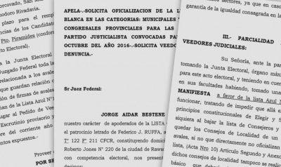 """PJ: la """"Celeste y Blanca"""" apeló y pide veedores judiciales para la interna"""