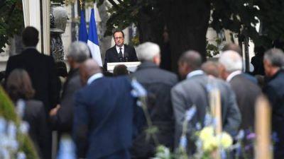 Francia homenajeó a las víctimas del terrorismo