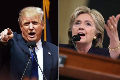 Economía y seguridad, los temas del primer debate entre Clinton y Trump