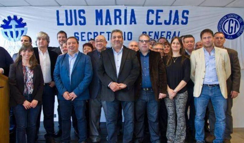 Cejas reasumió como secretario general de Viajantes Vendedores