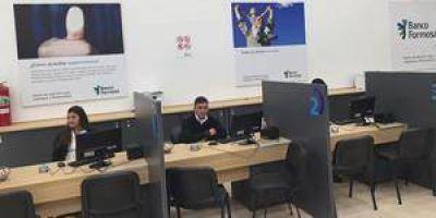 Banco Formosa inauguró Centro de Atención para jubilados