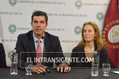 Juan Manuel Urtubey y Florence Bauer presentaron