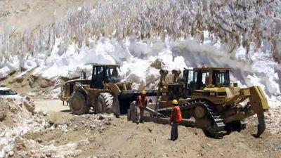 Allanaron el Ministerio de Ambiente por la violación a la ley de glaciares en la mina de Barrick Gold