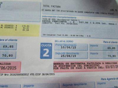 A mediados de noviembre se definirá la tarifa eléctrica en Entre Ríos
