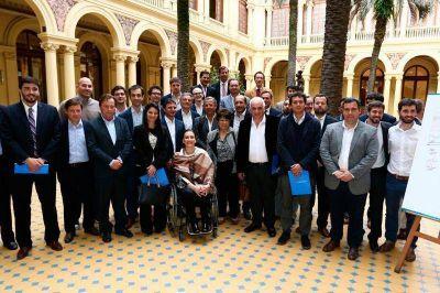 Galli participó del lanzamiento de la Red Nacional de Municipios Productivos