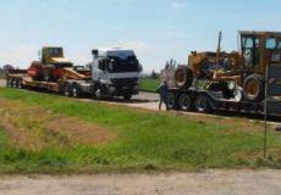 Ruta 191: Llegaron las m�quinas al obrador de Doyle