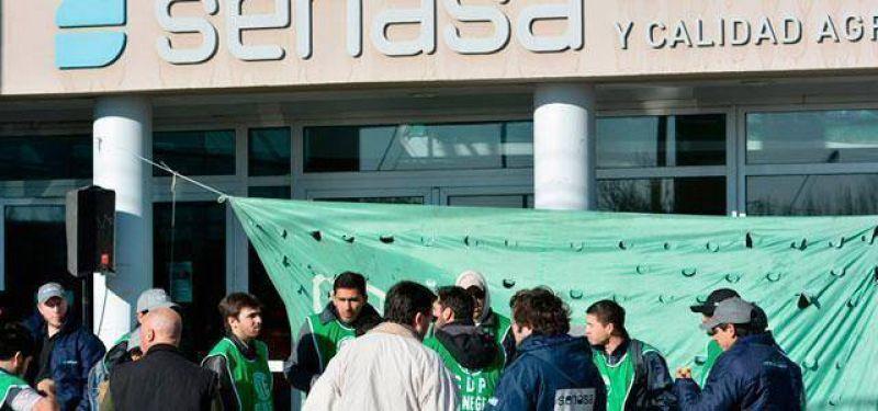 Trabajadores del Senasa inician un paro de 10 días
