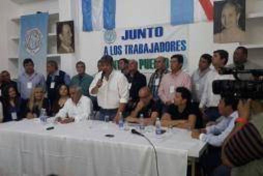 Un 'peso pesado' ratificó a Reynoso en la CGT La Rioja