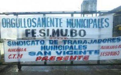 Municipales de San Vicente acordaron un 25 por ciento de aumento salarial