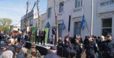 Inauguraron la comisar�a de la calle San Mart�n