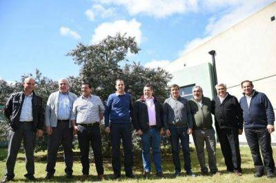 Reunión de intendentes por consorcios regionales