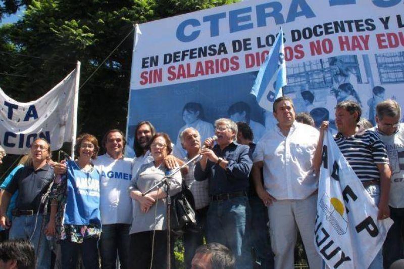CTERA definió plasmar un paro nacional para el 27S: exigen aumentos salariales y reapertura de paritarias