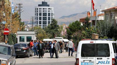 Ataque a la embajada de Israel en Ankara: fuerzas de seguridad neutralizaron al agresor